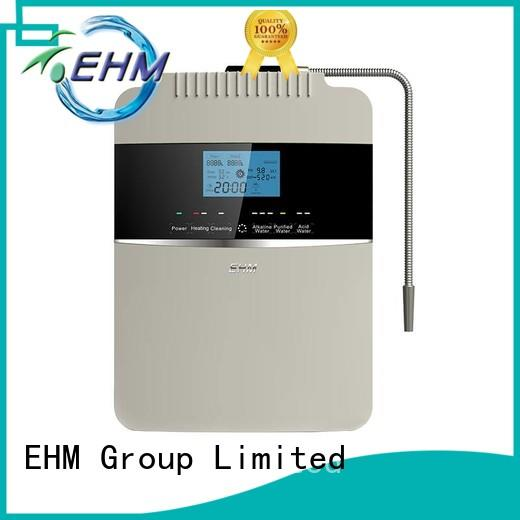 EHM hydrogen-rich living water alkaline water ionizer titanium for family