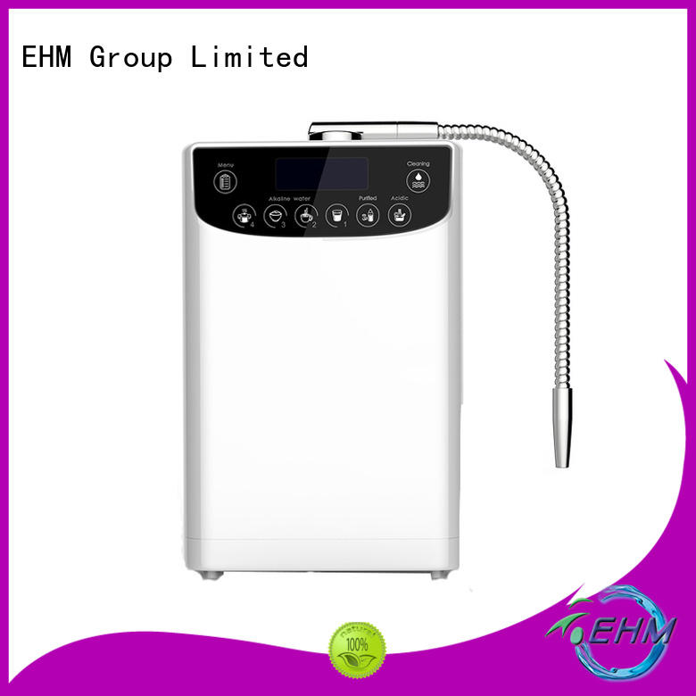 EHM ionizers hydrogen water ionizer from China for filter