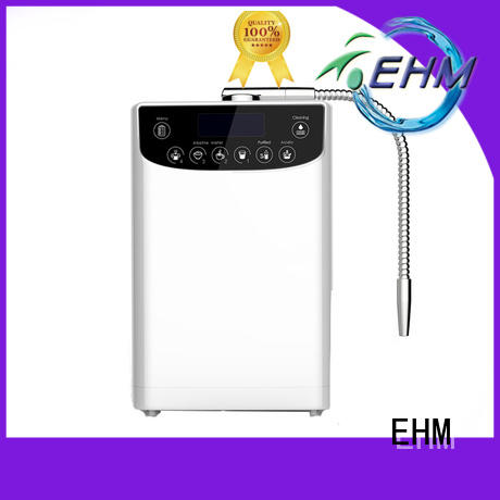EHM hydrogenrich water ionizer machine factory for dispenser