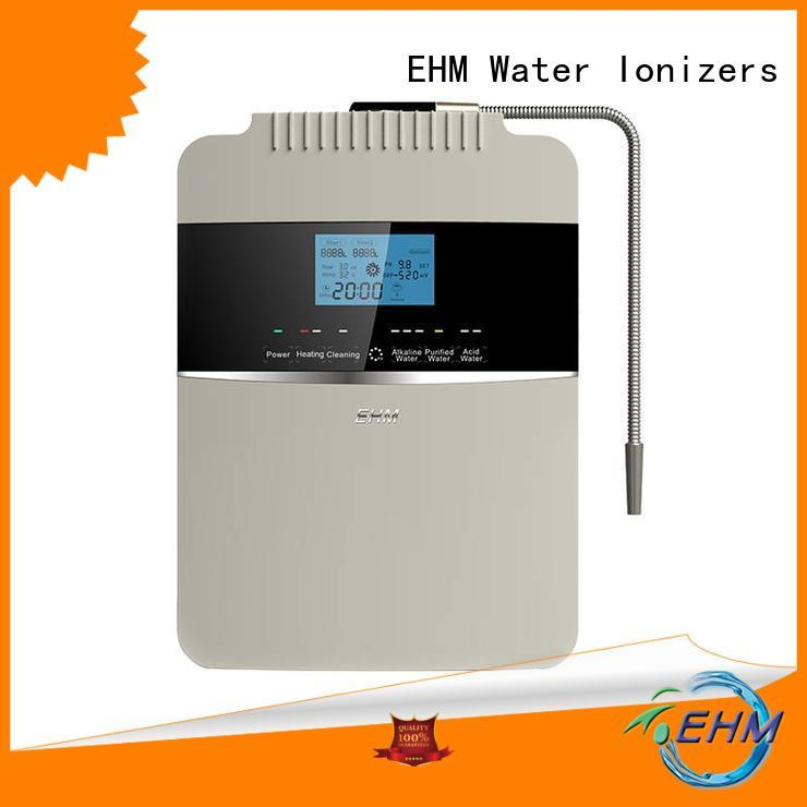 EHM ph hydrogen water ionizer benefits