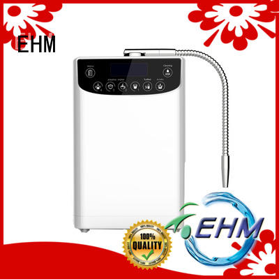 EHM hydrogen-rich best ionized water machine customized for filter