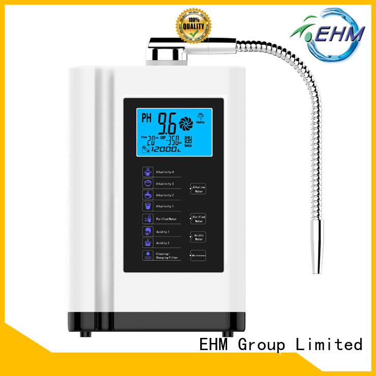 high ph alkaline water ionizer household healthy