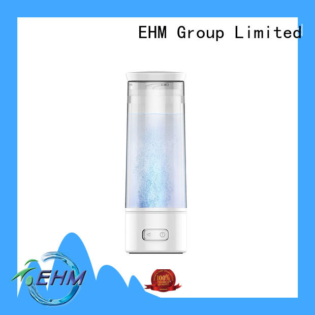 EHM customized hydrogen water ionizer rechargable for Reduces wrinkles