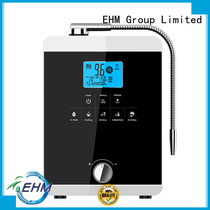 hydrogenrich water ionizer machine reviews benefits for office EHM