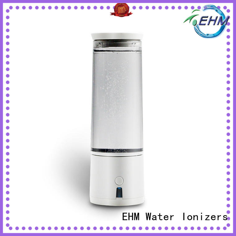 EHM portable portable hydrogen water bottle factory direct supply for health