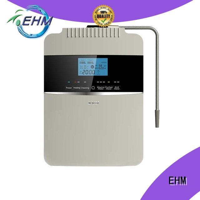 high pH value 8 plates water ionizer EHM-929