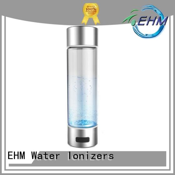 EHM rechargable best hydrogen water bottle with high quality for bottle
