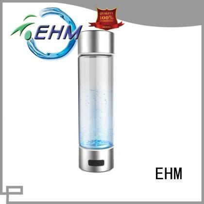 EHM rechargable hydrogen rich water generator manufacturer for reducing wrinkles