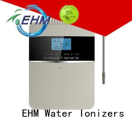 EHM ionizers alkaline ionised water benefits
